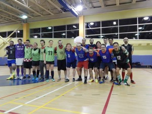 Soccer, turf, solidarité, ambiance, plaisir