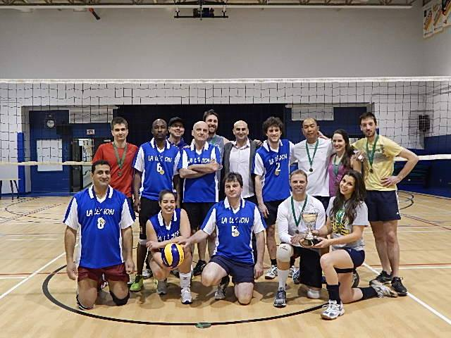 Championnat volley hiver 2015