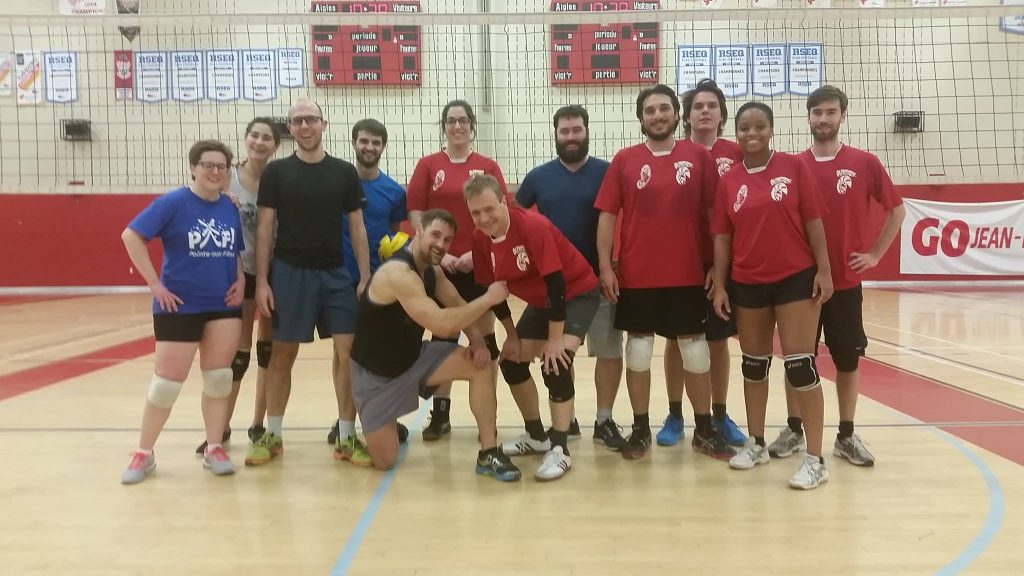 Le championnat 2017 de volley-ball