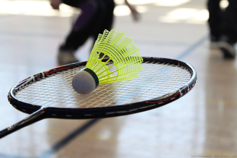 Inscription au badminton