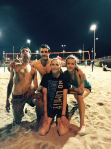 beachvolley Fous d'Heather